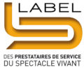 Logo Label du spectacle vivant